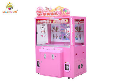 China 2P Ice Cream Pink Claw Machine High Win Rate Vending Gift Customized OEM supplier