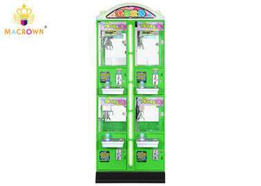 China Green Doll Catching Mini Toy Crane Machine For Jewelry Watch And Plush Toy supplier