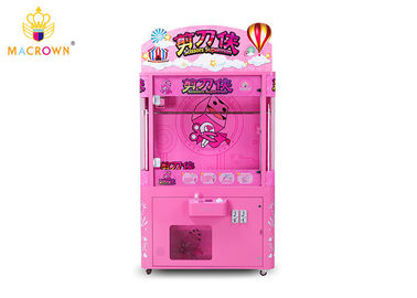 China 8 Hooks Scissors Caesar Doll Picking Prize Out Machine / Plush Time Wins Claw Machine supplier