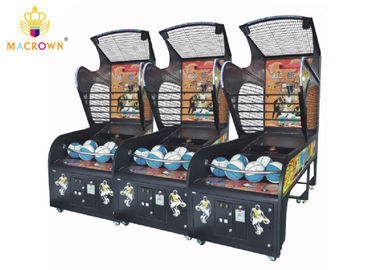 China Coin Operated Arcade Basketball Hoop Machine / Basketball Shooting Machine supplier