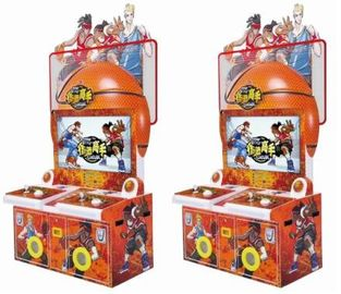 China Classical Game Slam Dunk Plus Street Hoops Arcade Machine 2 Players FEC Amusement supplier