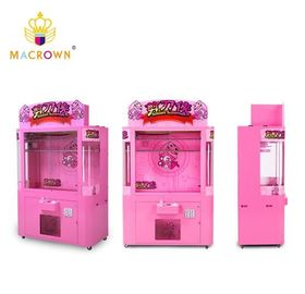China Toy Prize Vending Machine Scissors Superman , Plush Toy Crane Machine 10 Prize Hooks supplier