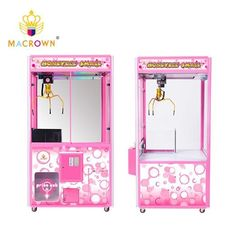 China Full Pink Toy House Claw Machine Amusement Arcade Games Coin Operated Catcher supplier