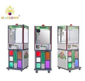 China Forest Pets Toy Claw Machine / Plush Crane Gift vending Machine 4+1 Windows supplier