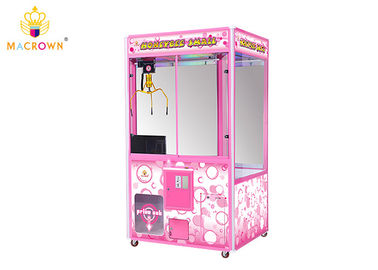 China Toy Claw Machine For Sale Full Pink Toy House Crane Vending Machine With 15 Inch Claw supplier