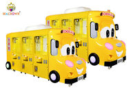 China Car Amusement Plush Bus Claw Machine 6 Players Doll Gift Crane Game Vending factory