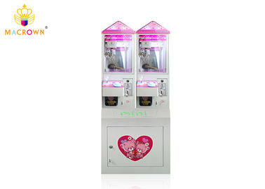 Crystal Mini Toy Crane Machine , Prize Vending Doll Grabbing Machine For Adults