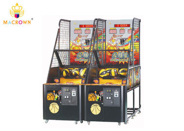 Crazy Street Basketball Arcade Machine 2 Person Basketball Arcade Game