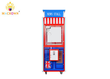 Macrown Toy Claw Machine Blue Design 1 P Crane Machine News Stall Vending Machine