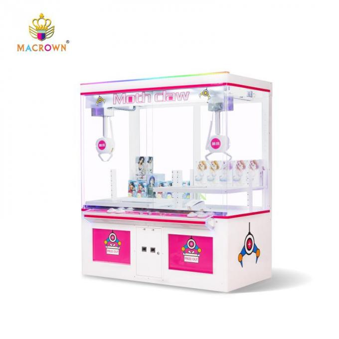 2019 New Design Two Claws Toy Claw Crane Machine / Vending Macrown Claw Machine