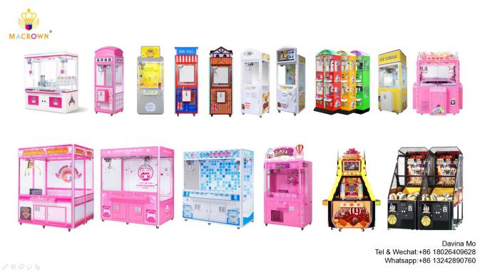 Macrown Toy Claw Machine Capsule Vending Machine 3 in 1