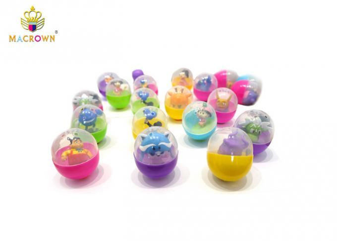 Toy Claw Machine Plastic Balls For Toys Game Capsule Machine 55MM