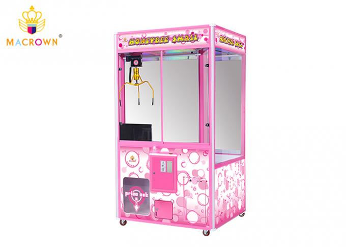 Toy Claw Machine For Sale Full Pink Toy House Crane Vending Machine With 15 Inch Claw